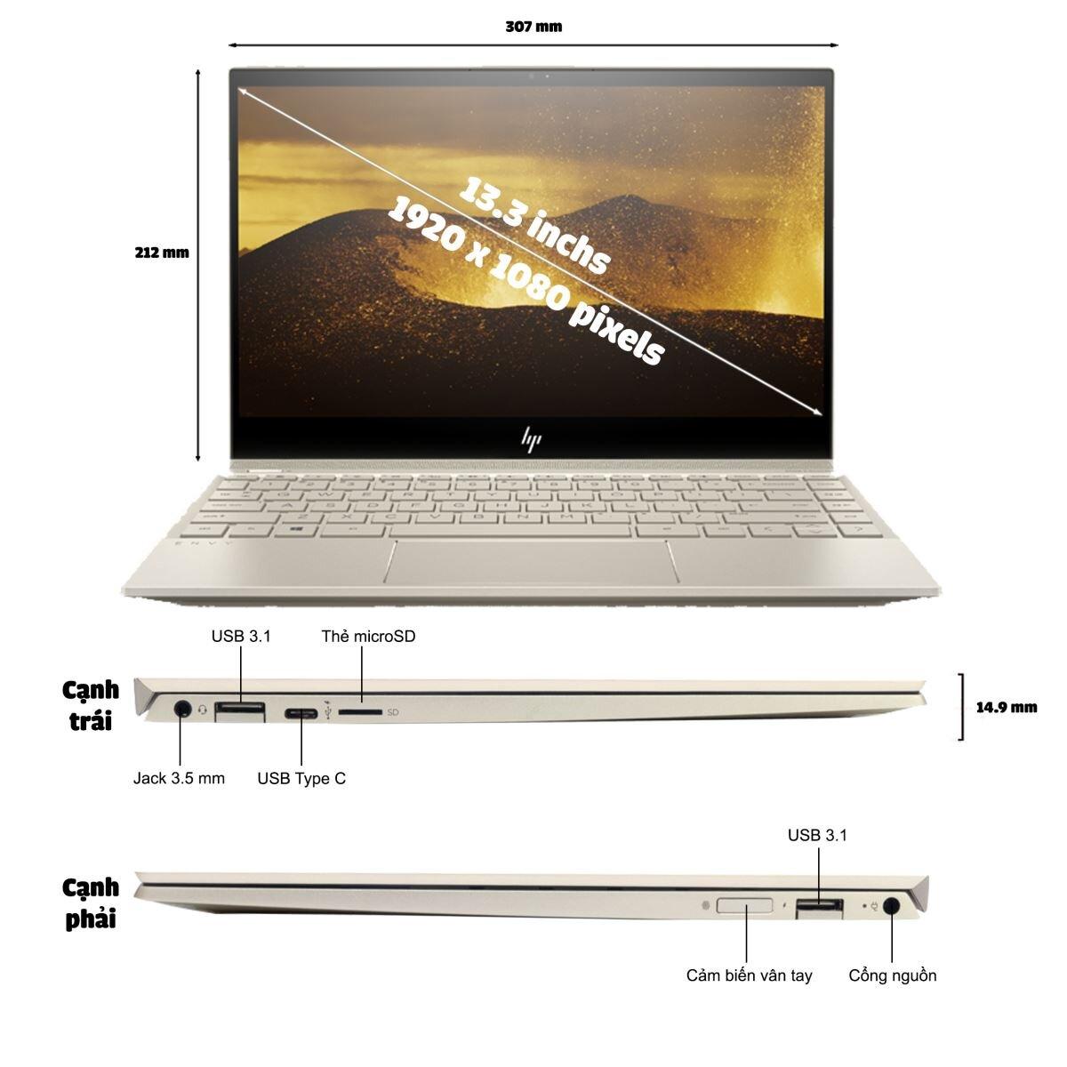 Laptop HP Envy 13-AH0025TU (4ME92PA) có tốt không