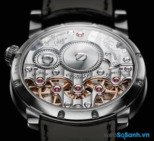 Đồng hồ cơ với sự chính xác của các chi tiết có độ chính xác về thời gian tương đương với đồng hồ điện tử