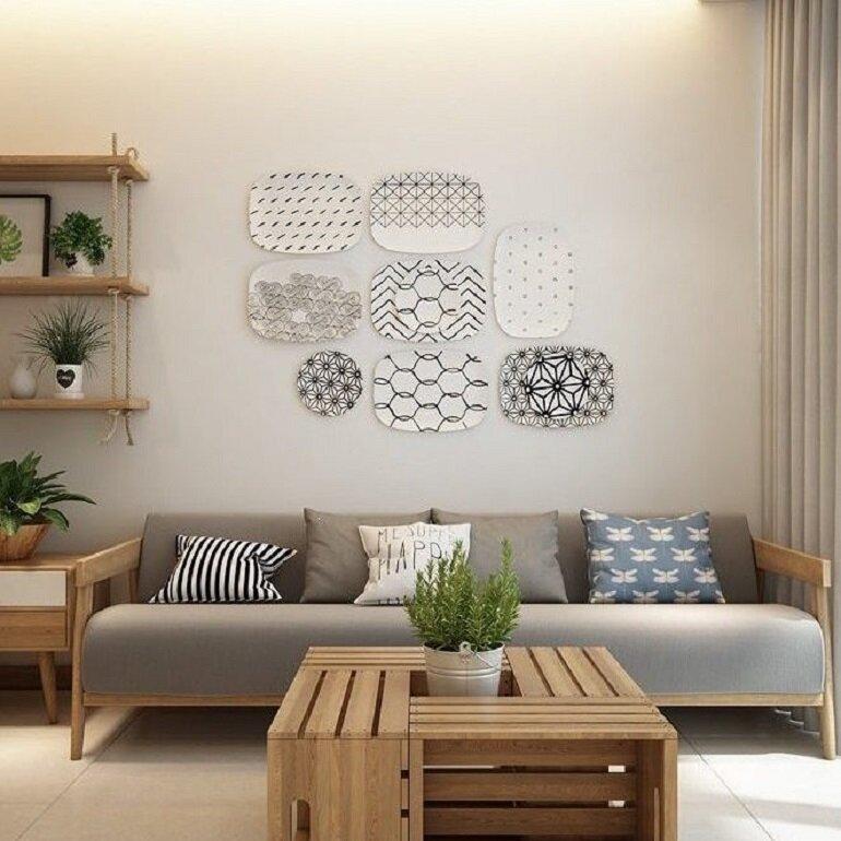 nội thất gỗ sồi hiện đại