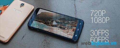 Smartphone Flash Plus có bộ đôi camera độ phân giải cao với nhiều tính năng hỗ trợ chụp ảnh