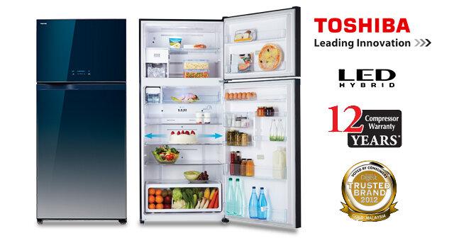 Toshiba là một thương hiệu tủ lạnh tốt, với mức giá không quá cao