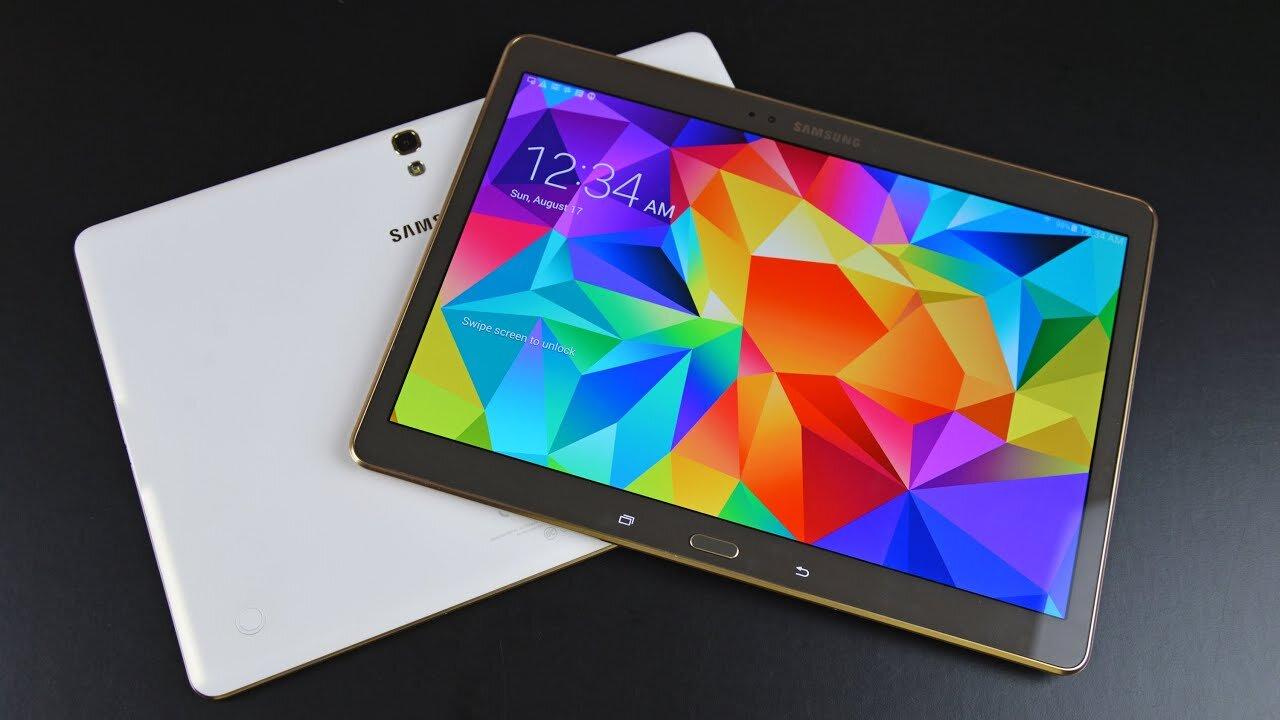 Dòng Samsung Galaxy Tab S 10.5 cực mỏng siêu đẹp