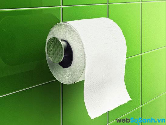 Phải sử dụng các loại giấy vệ sinh đảm bảo chất lượng