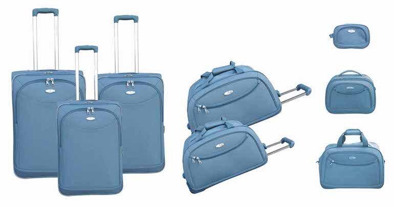 Chất liệu của vali kéo vải