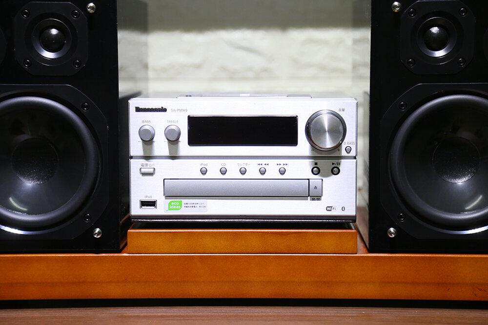 Bộ dàn âm thanh mini Panasonic SA-PMX9