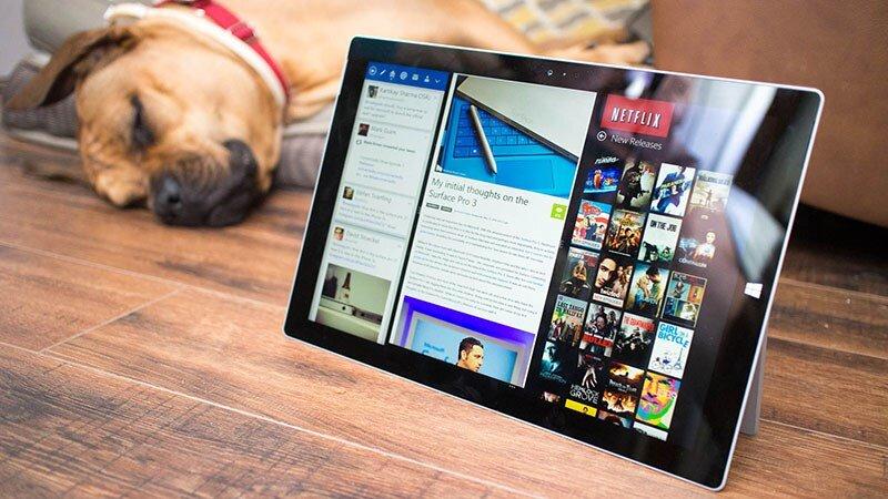 Chất lượng màn hình Surface Pro 5