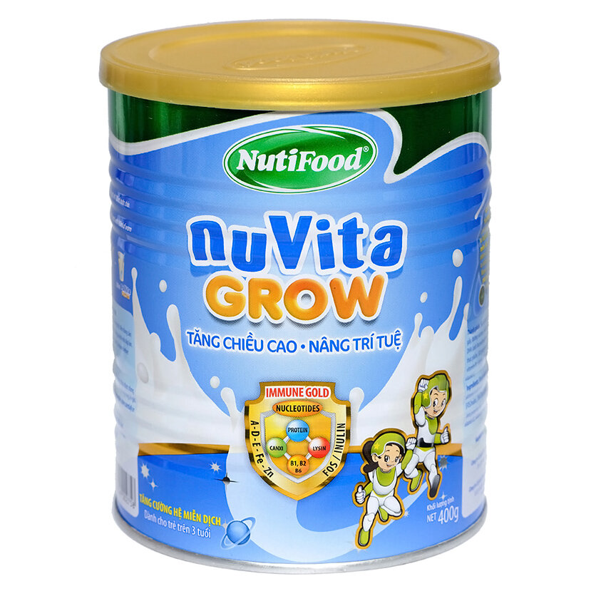 Sữa Nuvita Grow