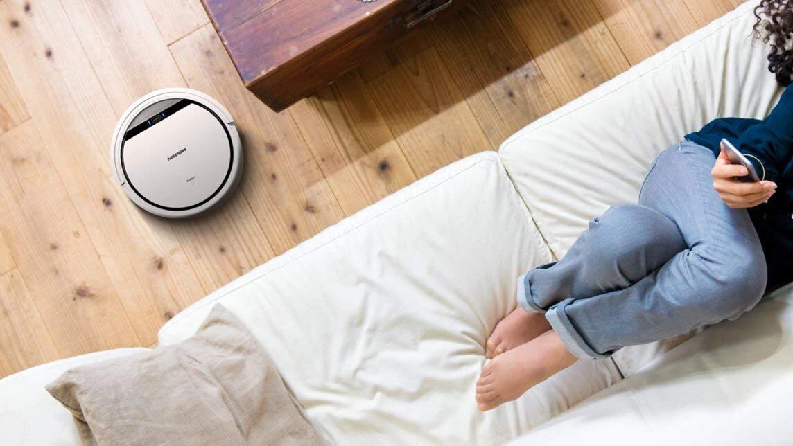 Có robot hút bụi Medion bạn sẽ có thời gian để tận hưởng cuộc sống