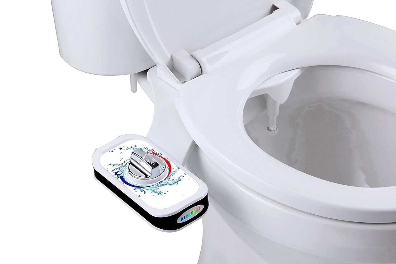 Vòi xịt vệ sinh tự động Kleenmac mang đến cảm giác sạch sẽ, thú vị sau mỗi lần đi vệ sinh