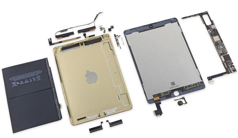 Bên trong iPad Air 2 Large