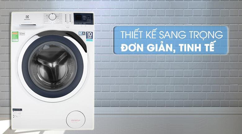 Máy giặt Electrolux có thiết kế đơn giản, tinh tế