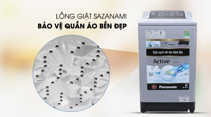 Máy giặt Panasonic 9 kg NA-F90A4GRV - Giá rẻ nhất: 5.000.000 vnđ