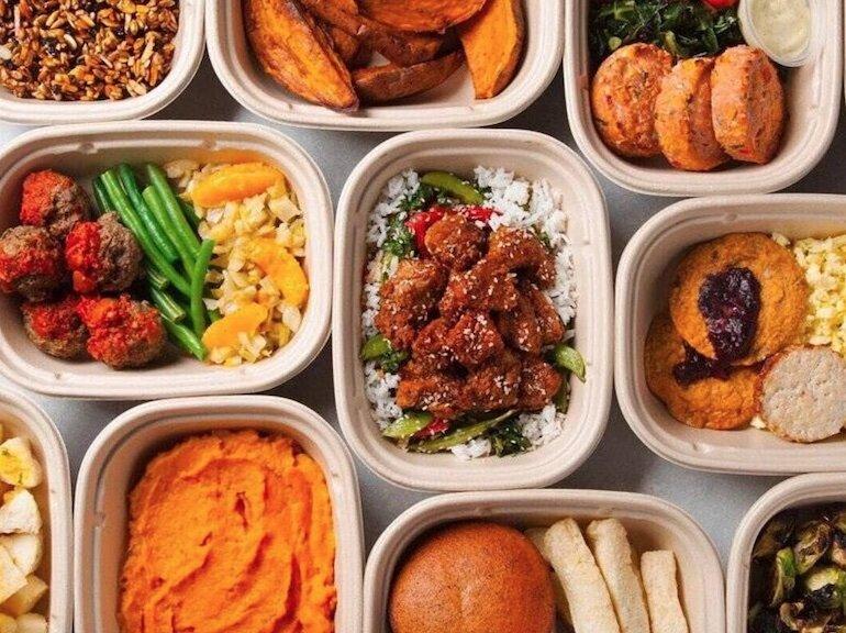 Đồ ăn giảm cân buổi trưa