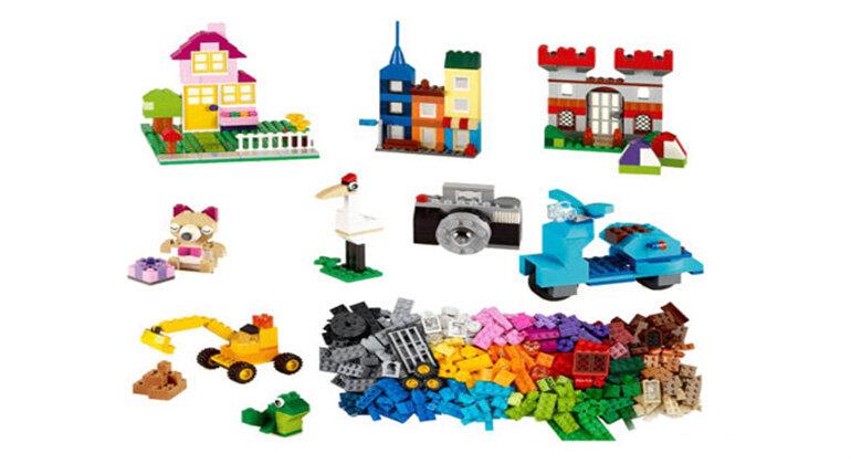 Đồ chơi Lego lắp ráp đa năng hình thành kỹ năng