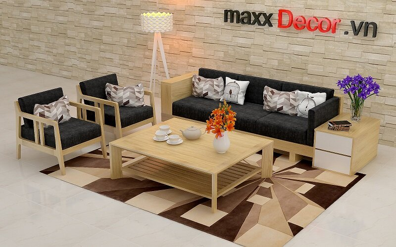 Sofa gỗ maxxDecor MDG 169