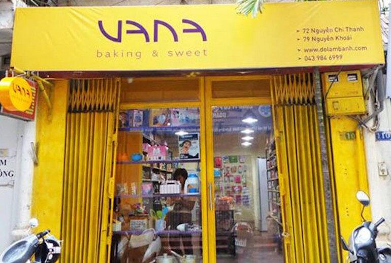 Vana Shop – Chuyên cung cấp dụng cụ làm bánh