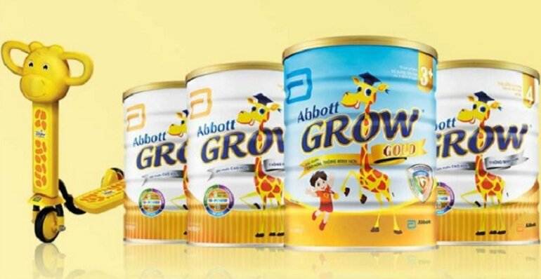 Ưu điểm nổi bật nhất của sữa Abbott Grow