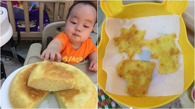 Có rất nhiều loại bánh ăn dặm khác nhau dành cho bé 4 tháng tuổi