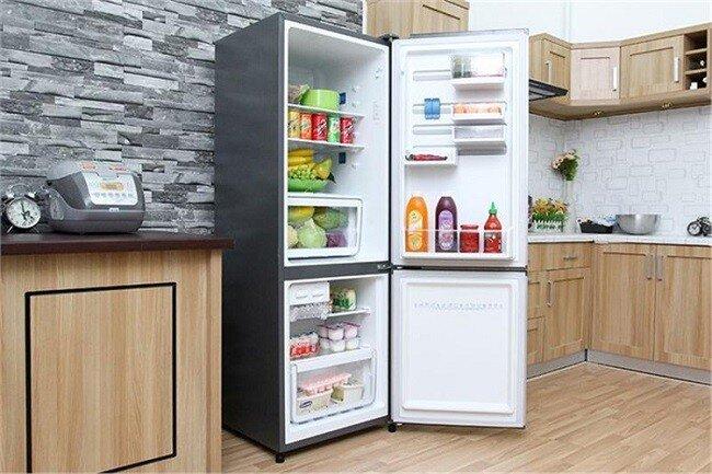 Tủ lạnh có ngăn đá dưới của Samsung