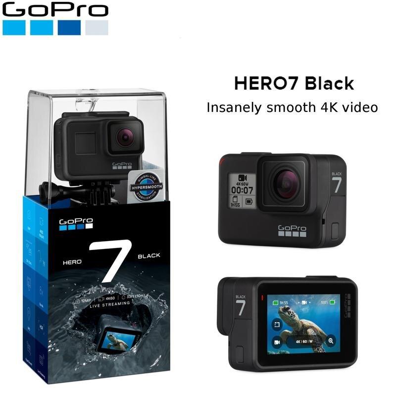 Sắm ngay chiếc camera hành trình GoPro 7 Black chất chơi cho chuyến phượt tiếp theo