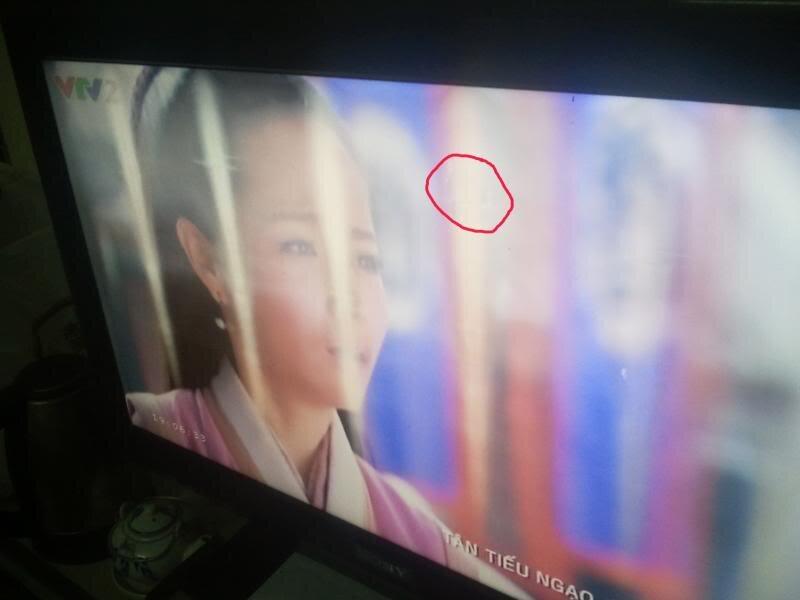 Lỗi tivi nhòe màn hình gây khó chịu cho người xem