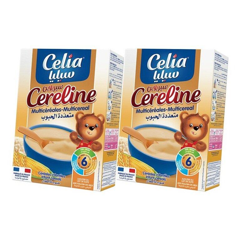 Bột ăn dặm cho bé Celia careline Multicereal