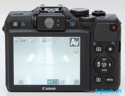 Ở máy ảnh compact PowerShot G15 hãng Canon đã loại bỏ màn hình LCD xoay thay vào đó là một màn hình cố định