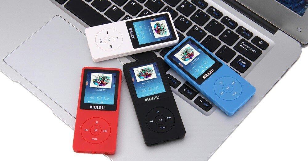 Hình ảnh máy nghe nhạc MP3 Ruizu X02