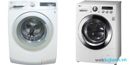 Electrolux EWF12732 và LG WD14600 (nguồn: internet)