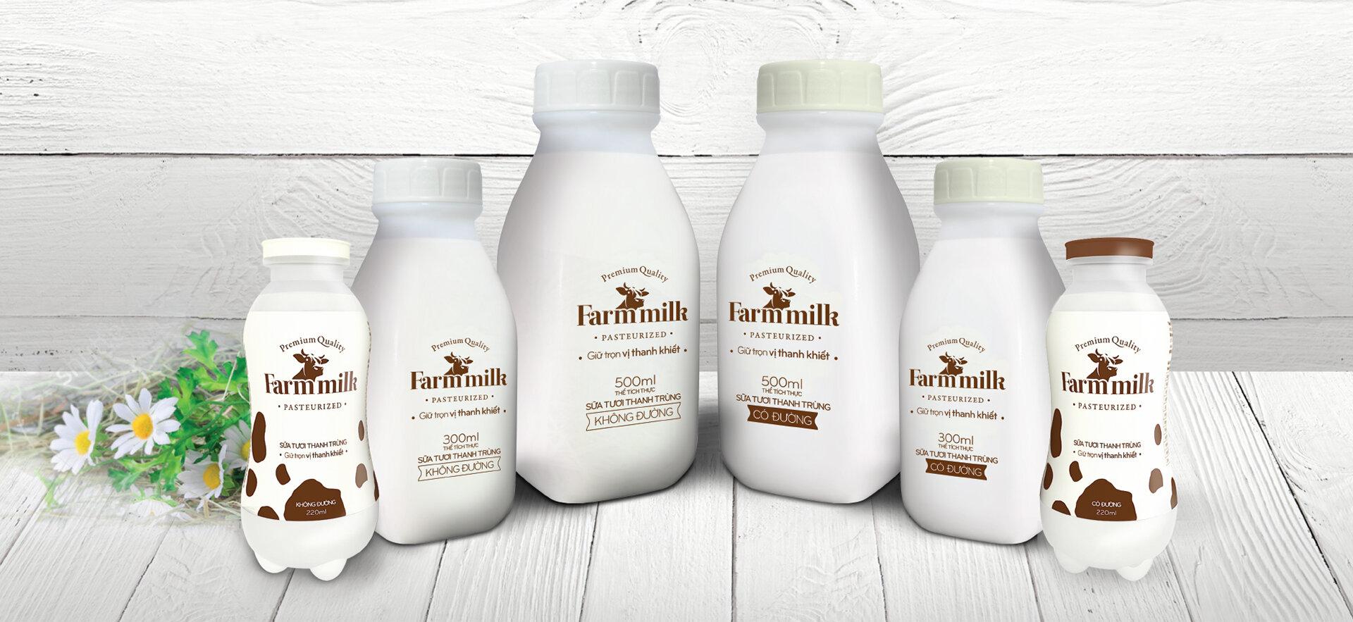 Sữa thanh trùng có vitamin tự nhiên trong sữa cao