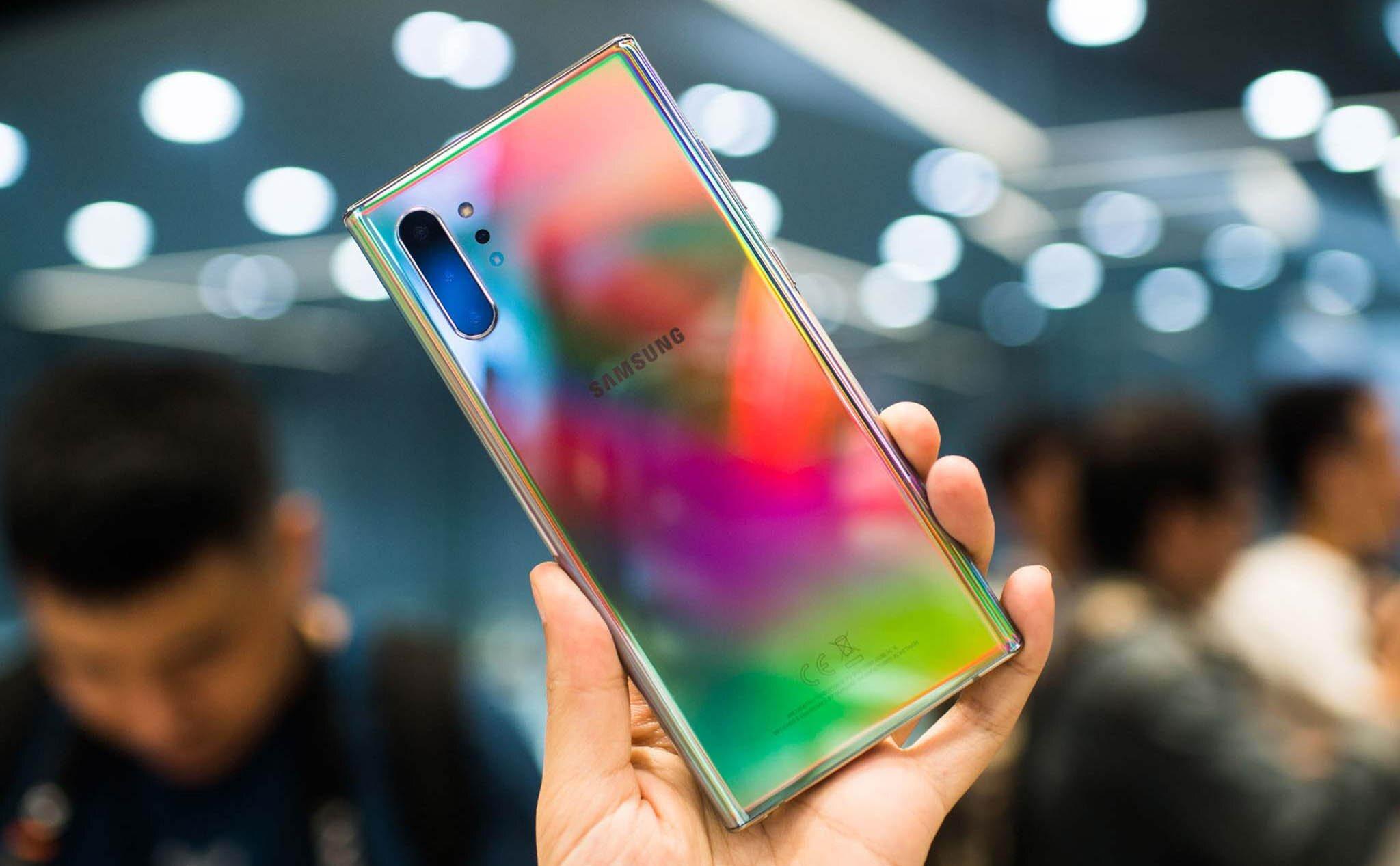 """Galaxy Note 10 Plus sở hữu cụm 4 camera sau """"siêu ngầu"""""""