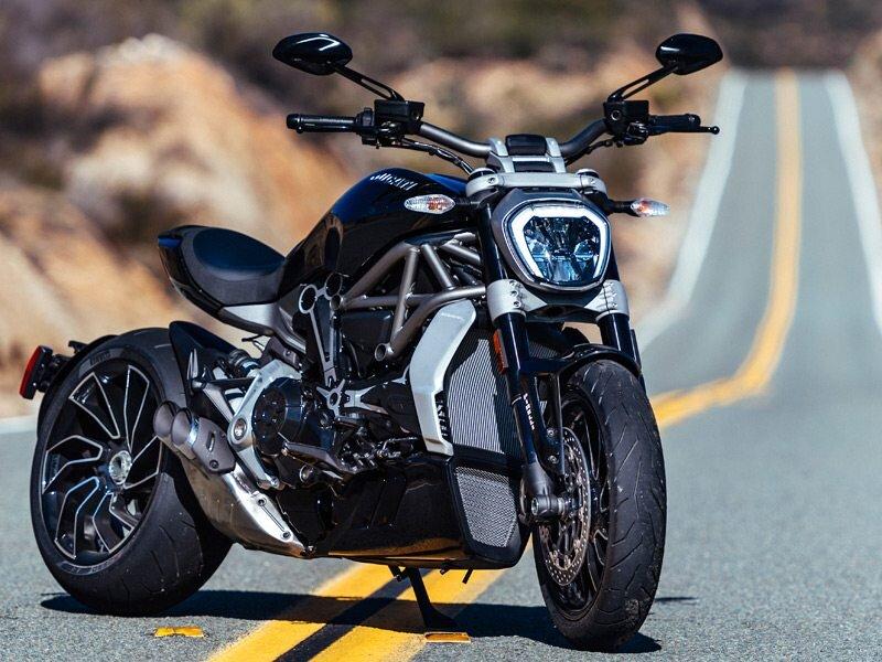Tổng quan thiết kế của Ducati XDiavel base