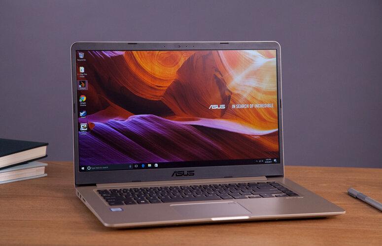 Laptop Asus X541UA-GO1372T có thiết kế bên ngoài khá sang trọng