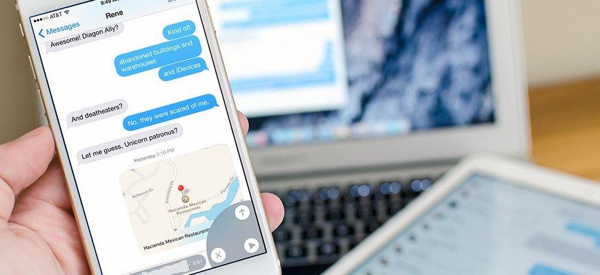 Dữ liệu tin nhắn cũng chiếm dung lượng iPhone của bạn!