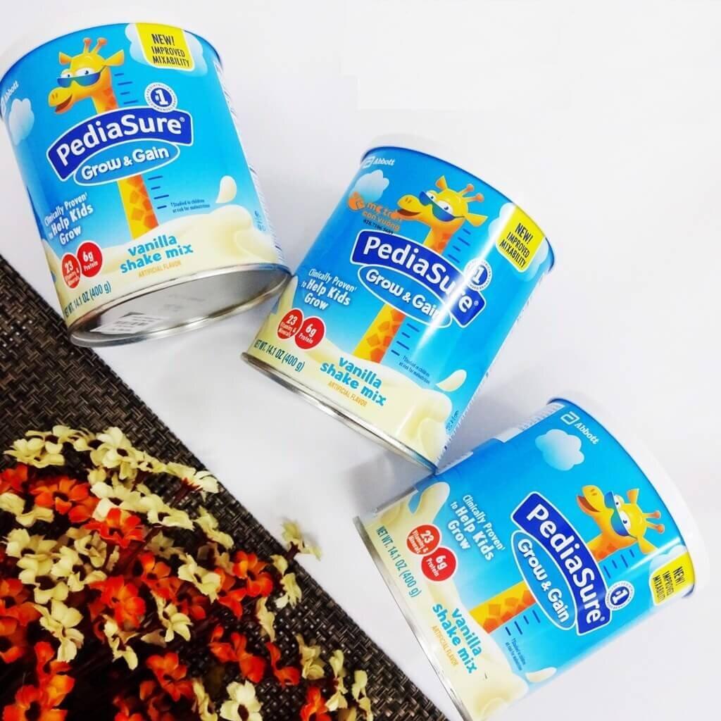 Sữa bột Pediasure được nhiều bà mẹ sử dụng cho con của mình