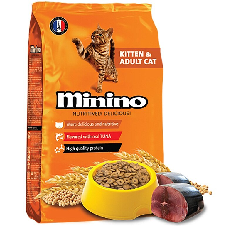 Thức ăn cho mèo Minino