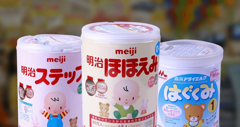 Sữa Meiji có hương vị gần giống sữa mẹ, rất dễ uống