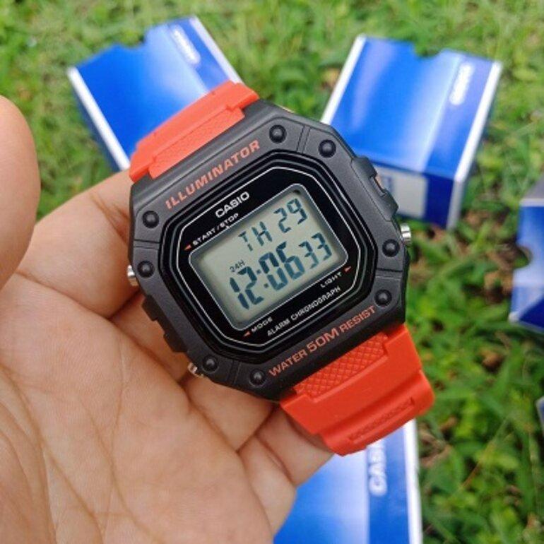 Đồng hồ trẻ em nam CASIO W-218H-4BVDF