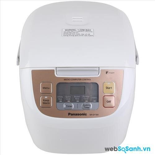 Nồi cơm điện Panasonic SRDY181CRA