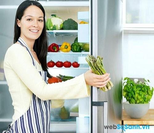 Công nghệ làm lạnh đa chiều giúp khí lạnh phân bố đến mọi vị trí trong tủ