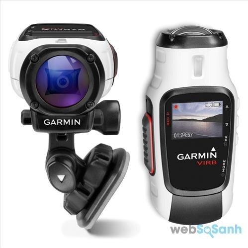 Camera hành trình Garmin khá cồng kềnh nhưng có pin dung lượng lớn