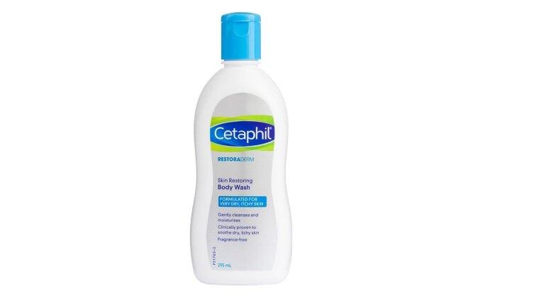 Sữa tắm Cetaphil Restoraderm Eczema Calming Body Wash đặc trị chàm cho bé