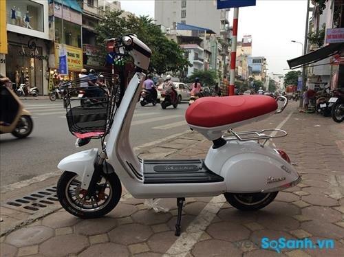 Thiết kế sang trọng với vẻ đẹp cổ điển của xe đạp điện Mocha