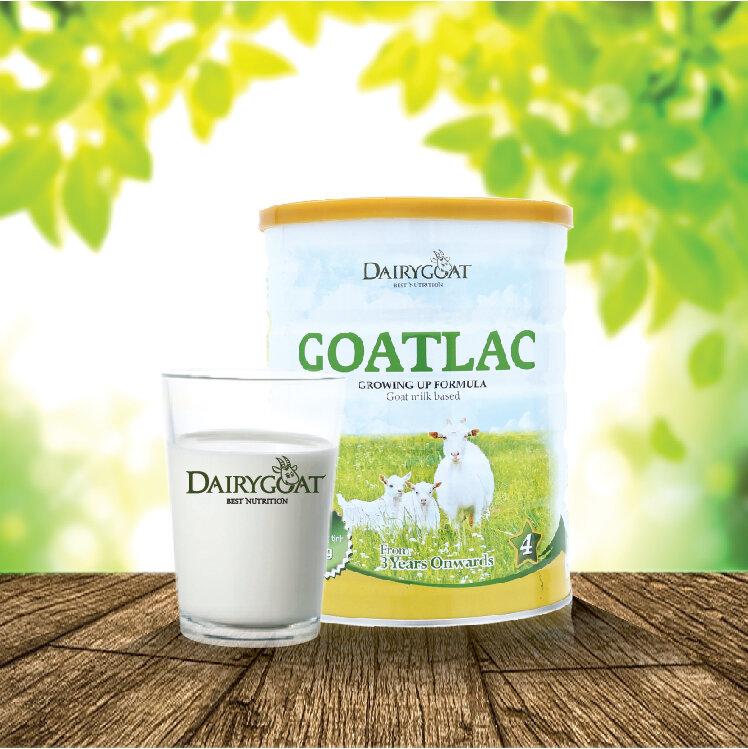 Sữa dê Goatamil BA có hàm lượng dinh dưỡng cao