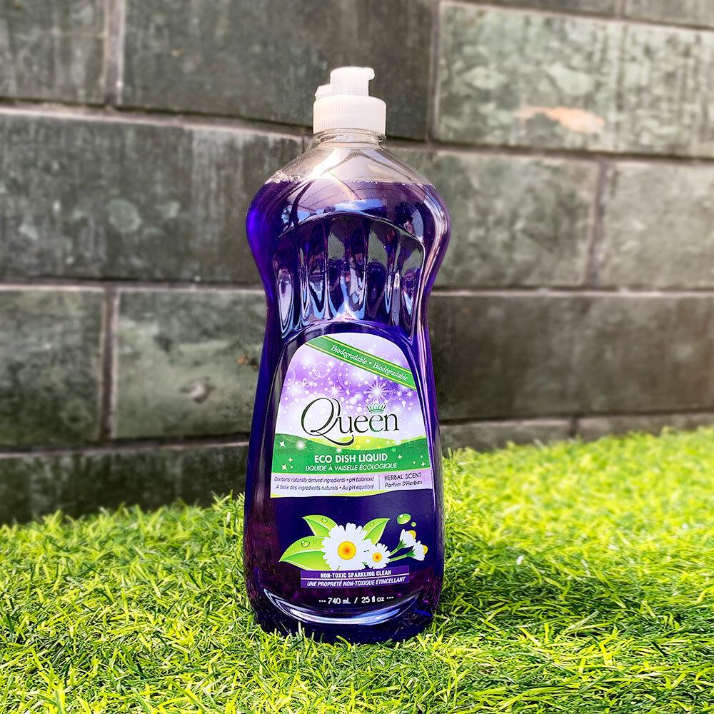 Nước rửa chén Queen hương thơm dịu nhẹ, an toàn cho sức khỏe