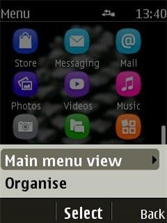 Thay đổi kiểu xem các icon ứng dụng