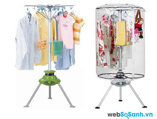 Một chiếc tủ sấy vải có giá khoảng 300,000 đồng rất hữu ích cho gia đình bạn