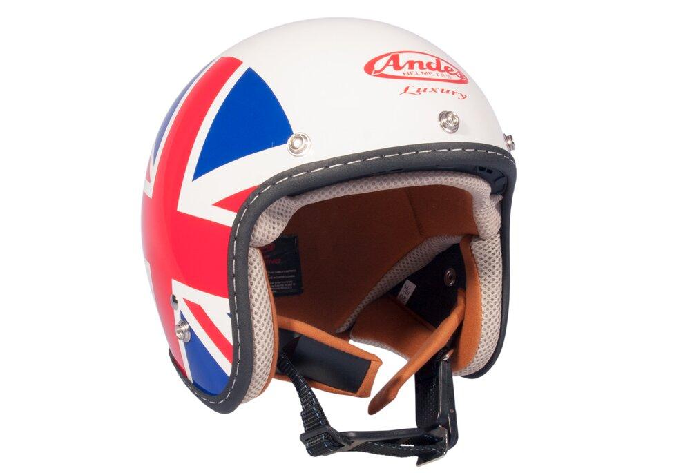 Mũ bảo hiểm 3/4 Andes Luxury 382DB-K122
