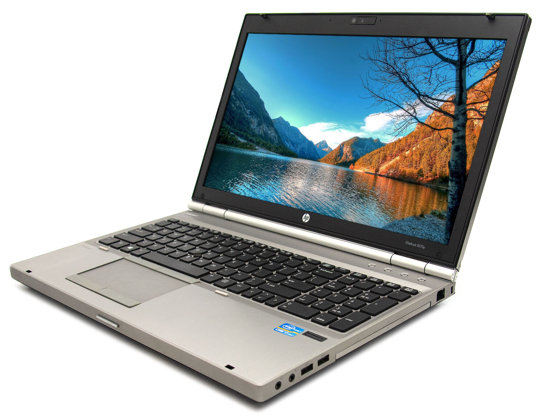 Hp EliteBook 8570p sở hữu đường nét tinh tế, sang trọng