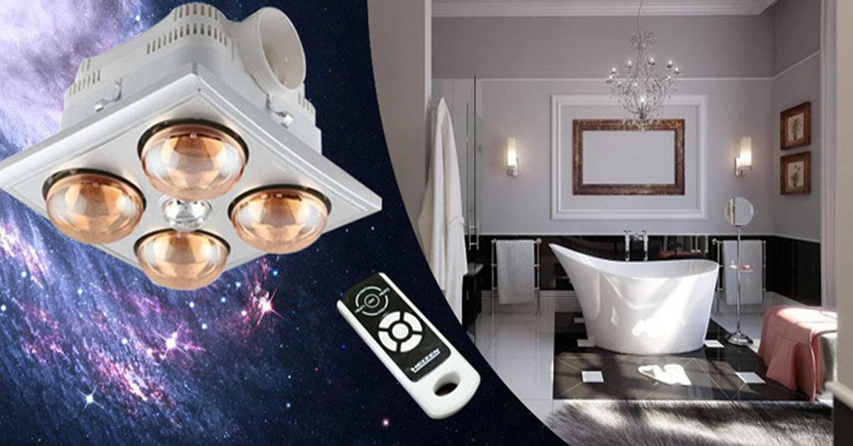 Đèn sưởi nhà tắm âm trần Kottmann K4BT-G